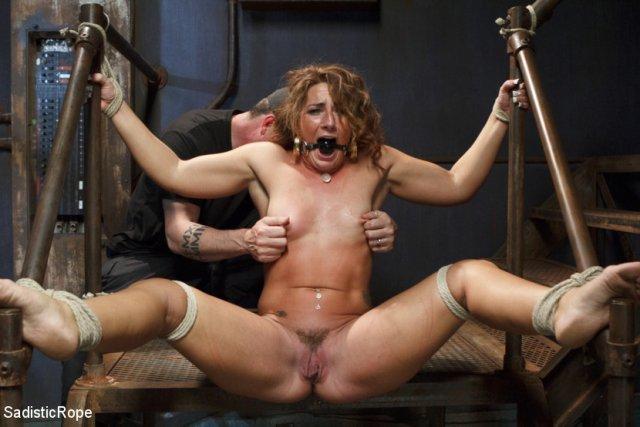 Порно завязывание фистинг