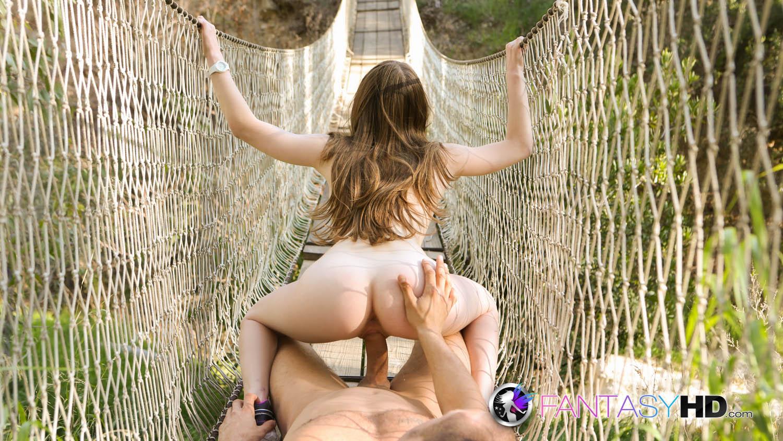 Оргазм на природе
